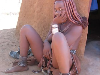 Real african tribes posing nude. Real wild life...